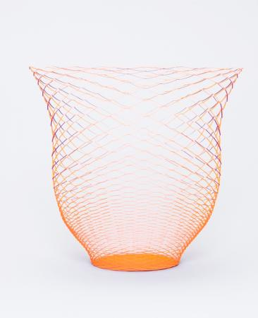 Luftgefäß AIR VASE 3er-Set - orange/lila