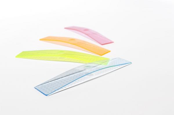 Lineal ARCH RULER transparent